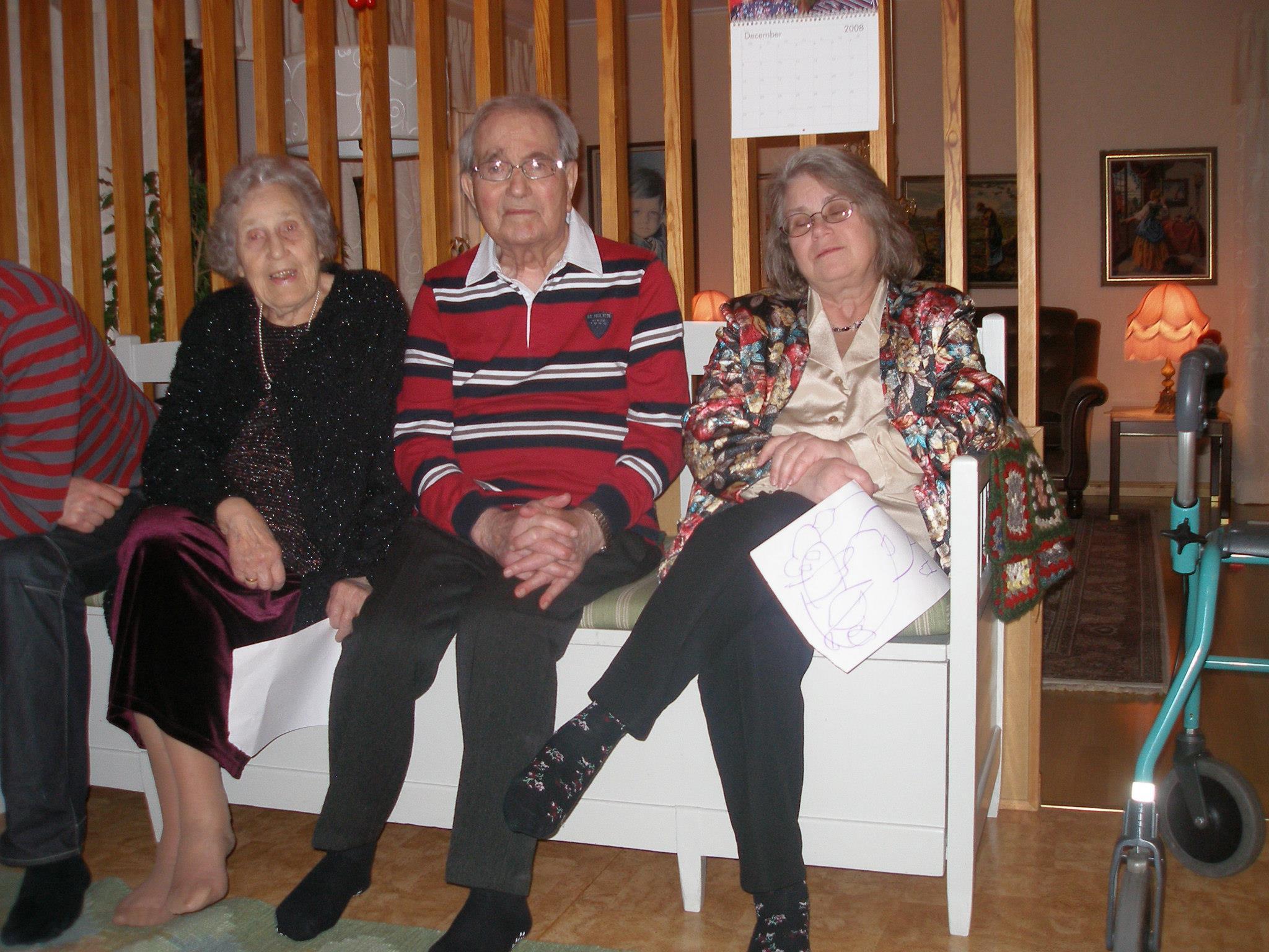 Birgitta Flodström, Karl-Aron Flodström och Rigmor Flodström