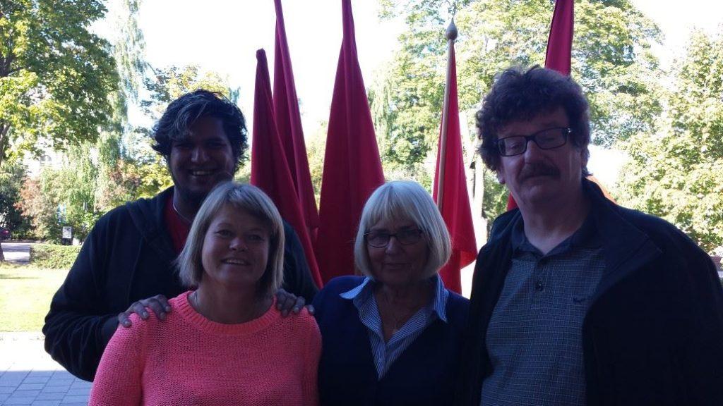 Vänstern i Svenska Kyrkan och Socialdemokraterna 2013