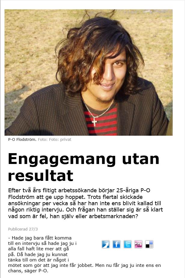 Släpp in framtiden, P-O Flodström